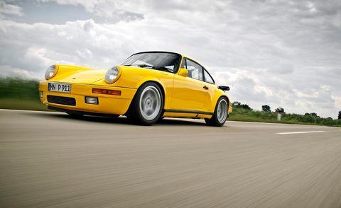 Tire, Wheel, Automotive design, Yellow, Vehicle, Rim, Car, Alloy wheel, Fender, Bumper,