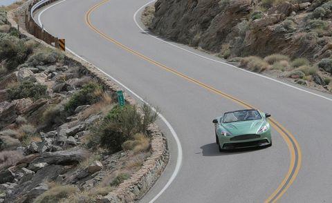 Road, Automotive design, Mode of transport, Vehicle, Green, Asphalt, Infrastructure, Road surface, Car, Highway,