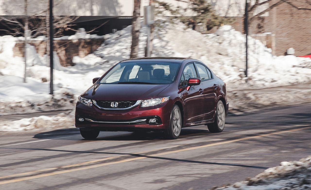 2014 Honda Civic 1 8l Cvt Sedan Test 8211 Review 8211 Car And Driver