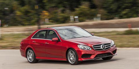 2014 Mercedes-Benz E550 4MATIC Test –