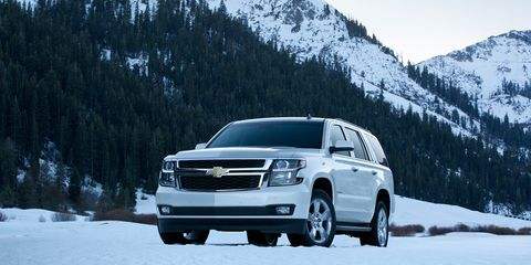 2015 Chevrolet Tahoe First Drive –