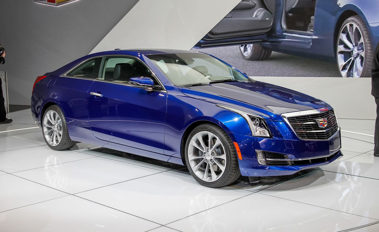 2015 Cadillac Ats Coupe Unveiled No Surprises