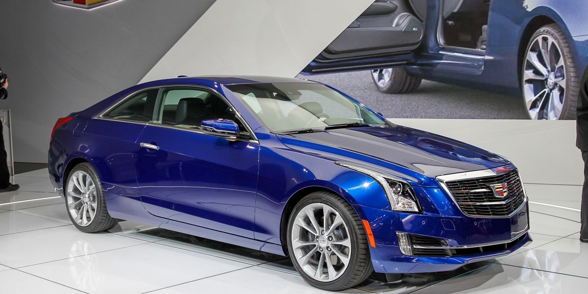 Cadillac Ats Coupe >> 2015 Cadillac Ats Coupe Unveiled No Surprises