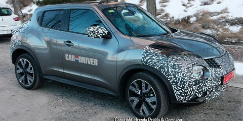 2020 Nissan Juke: Redesign, Changes, Arrival >> 2015 Nissan Juke Spy Photos 8211 News 8211 Car And Driver