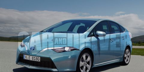 2017 Toyota Prius Rendered Detailed