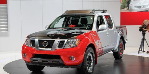 Nissan Frontier Diesel >> Nissan Frontier Diesel Runner Concept Photos And Info 172 8211