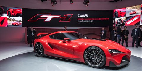 Toyota Ft 1 >> Toyota Ft 1 Concept Photos And Info 8211 News 8211 Car