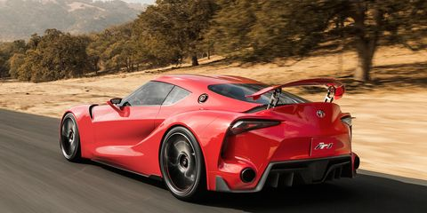 2018 Toyota Sports Car Don T Call It A Supra On Second Thought