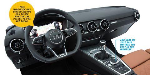 Motor vehicle, Steering part, Mode of transport, Steering wheel, Automotive design, Center console, Car, Speedometer, Luxury vehicle, Gear shift,