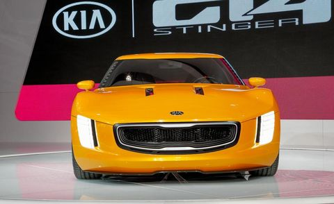 Motor vehicle, Automotive design, Yellow, Hood, Grille, Automotive exterior, Automotive lighting, Car, Performance car, Concept car,