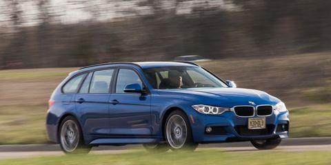 2014 BMW 328d xDrive Diesel Wagon Long-Term Wrap –