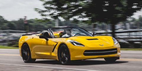 2014 Chevrolet Corvette Stingray Z51 Convertible Test –