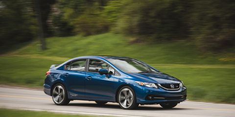 2014 honda civic manual four door