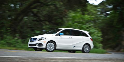 Mercedes B Class Electric >> 2014 Mercedes Benz B Class Electric Drive 8211 Review