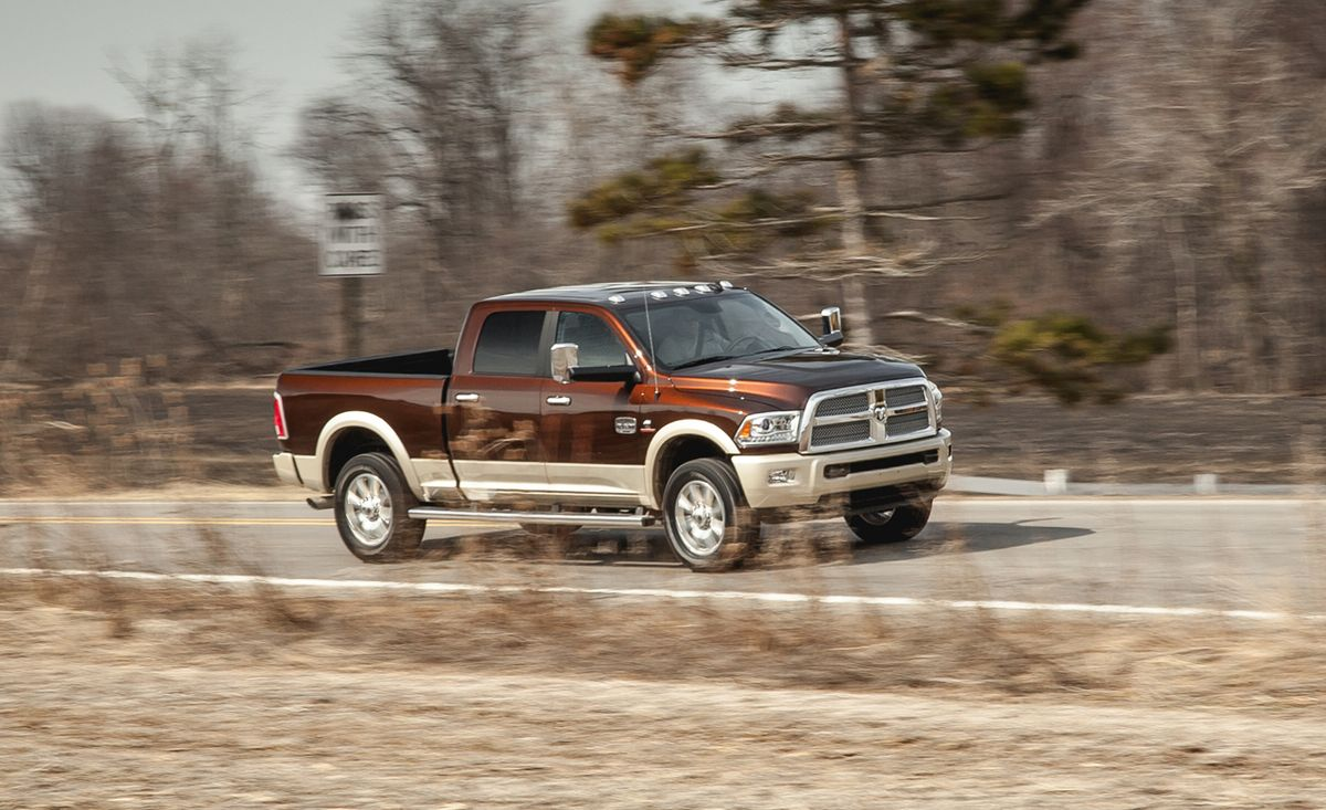 2014 Ram 2500 Hd Crew Cab 4x4 Diesel Test 8211 Review 8211 Car And Driver