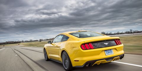 2015 Ford Mustang 2 3l Ecoboost First Ride 8211 Review 8211