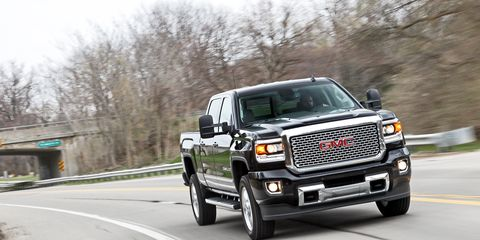 2015 GMC Sierra 2500 HD Denali 4x4 Crew Cab Test – Review ...
