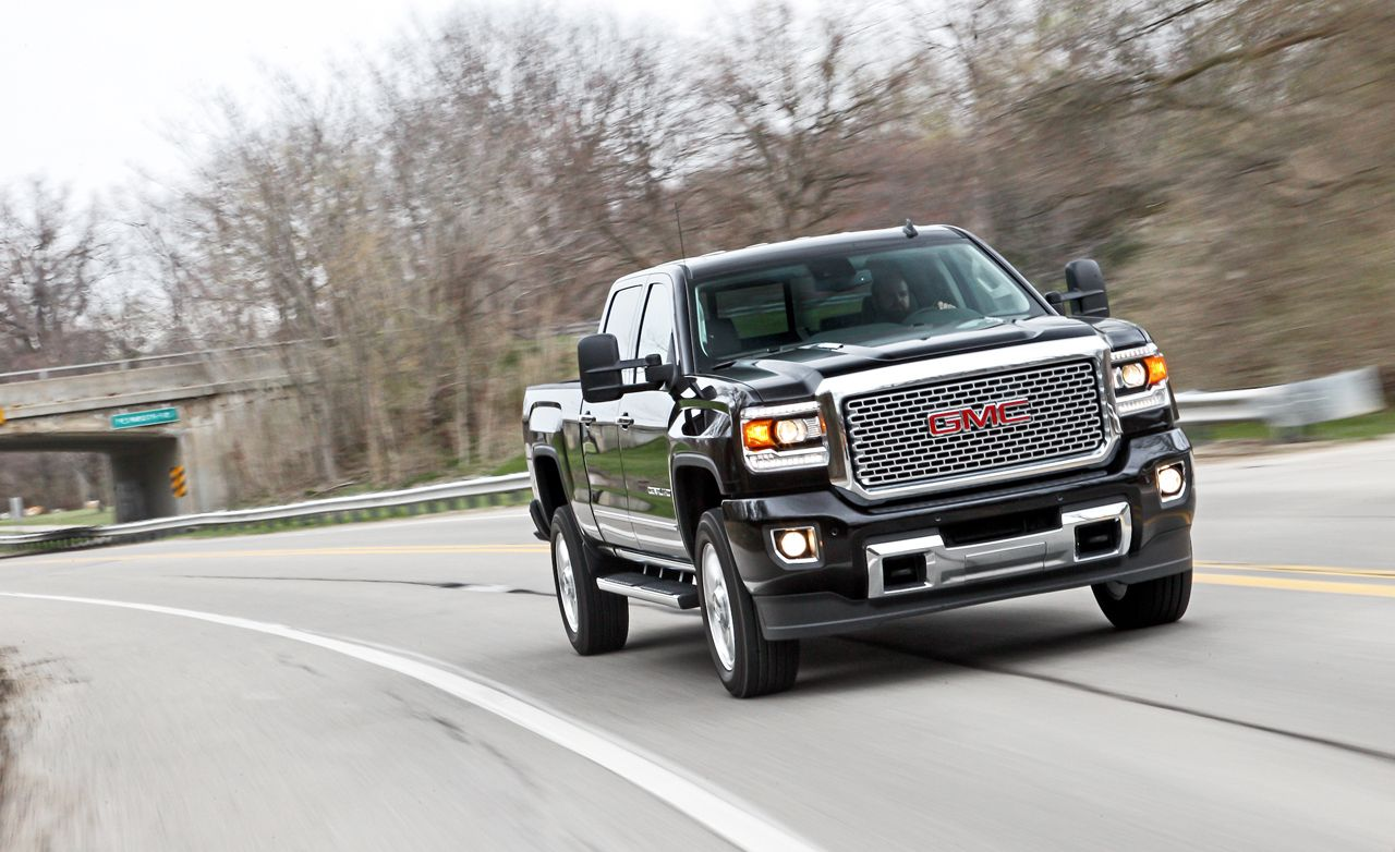 2015 Gmc Sierra 2500 Hd Denali 4x4 Crew Cab Test 8211 Review 8211 Car And Driver