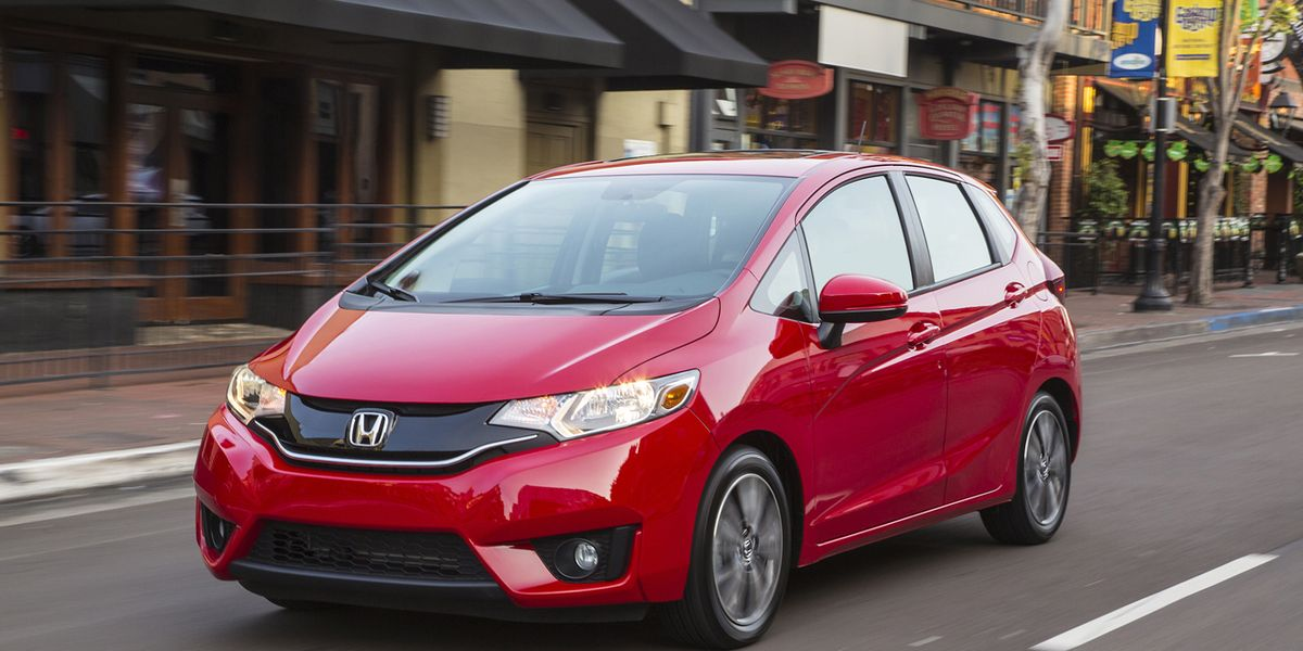 honda fit hatchback  drive review car  driver