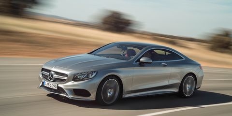 2015 Mercedes Benz S550 4matic Coupe First Drive 8211 Review