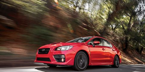 2015 Subaru WRX Automatic Test –