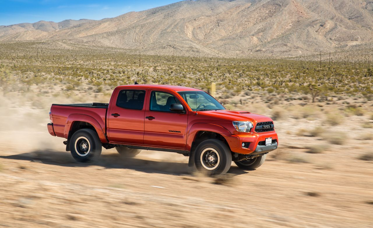 2015 Toyota Tacoma Trd Pro First Drive 8211 Review 8211 Car And Driver