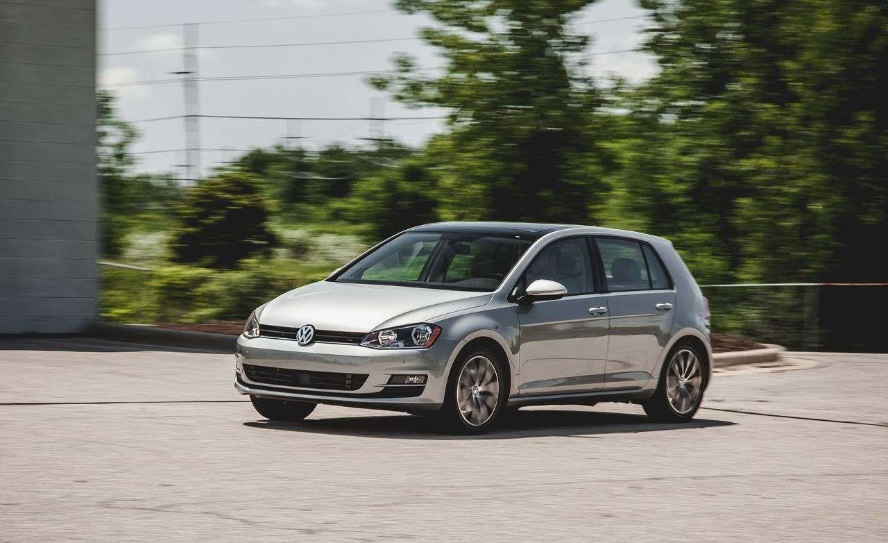 2017 Volkswagen Golf Tdi Sel Dsg Test 8211 Review Car And Driver