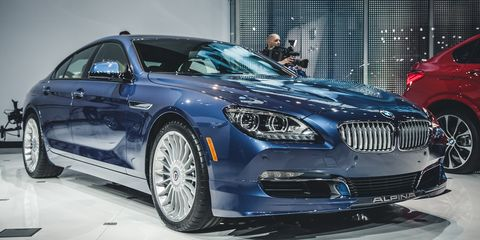 BMW Alpina B6 >> 2015 Bmw Alpina B6 Xdrive Gran Coupe Photos And Info 8211