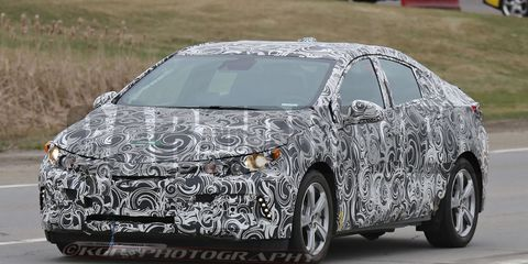 2016 Chevrolet Volt Spy Photos Make Or Break Time