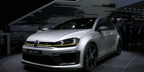 Golf R 400 >> Volkswagen Golf R 400 Concept 8211 News 8211 Car And Driver