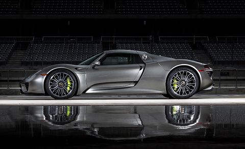 The 2015 Porsche 918 Spyder Is the Quickest Road Car in the