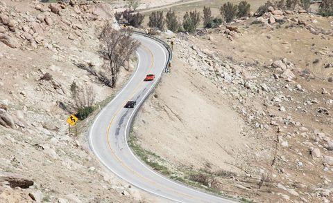 Road, Infrastructure, Road surface, Slope, Asphalt, Thoroughfare, Highway, Geological phenomenon, Soil, Freeway,