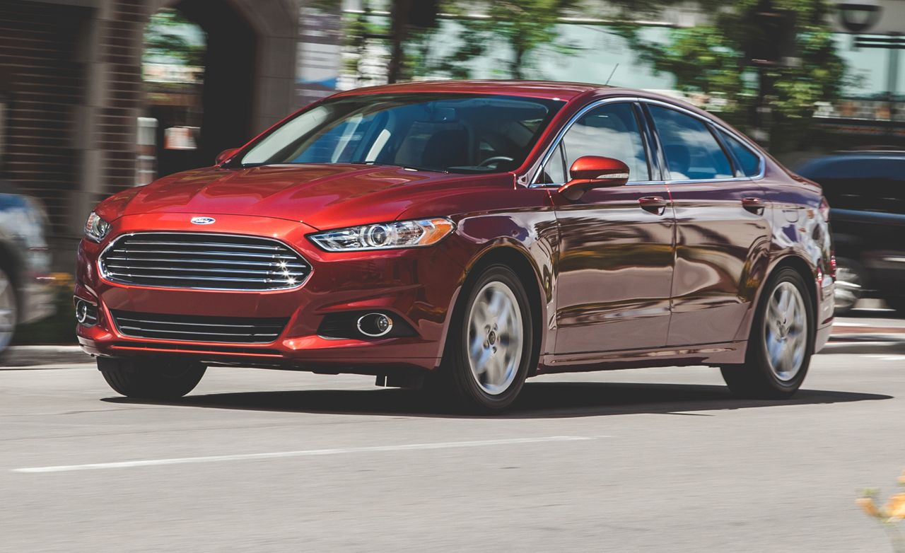 2014 Ford Fusion Se 1 5l Ecoboost Automatic Test 8211 Review 8211 Car And Driver