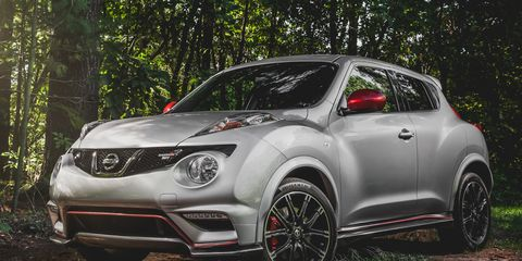 2014 Nissan Juke NISMO RS Test –