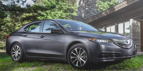 2015 Acura TLX 2 4L Test –