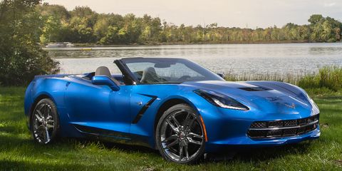 Michael Simari No Sports Car Should Have Chrome Wheels The 2017 Chevrolet Corvette Stingray Convertible