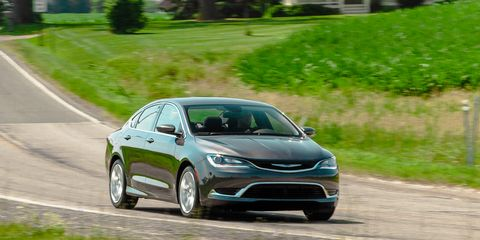 Chrysler 200 Tire Size >> 2015 Chrysler 200 Limited Fwd Test 8211 Review 8211
