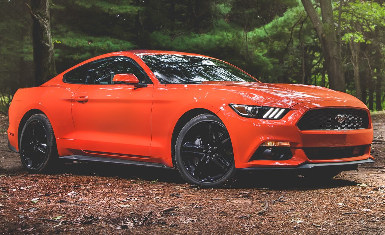 2015 ford mustang ecoboost automatic test review car and driver