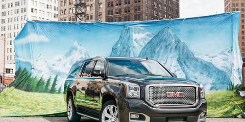 2015 GMC Yukon XL Denali 4WD Long-Term Wrap –
