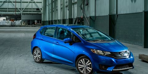 2015 Honda Fit EX Manual –