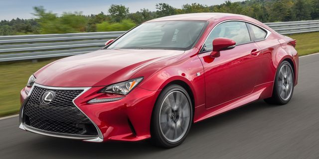 2015 Lexus RC350 Coupe First Drive –