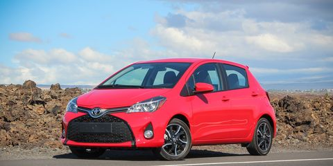 2015 Toyota Yaris First Drive 8211 Review 8211 Car And Driver