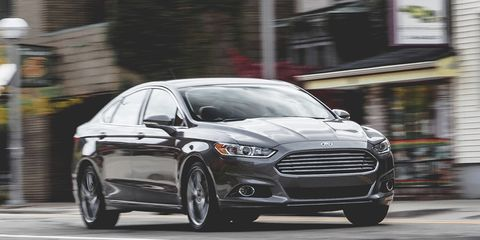 Ford Fusion Titanium 2 0L EcoBoost AWD Test –