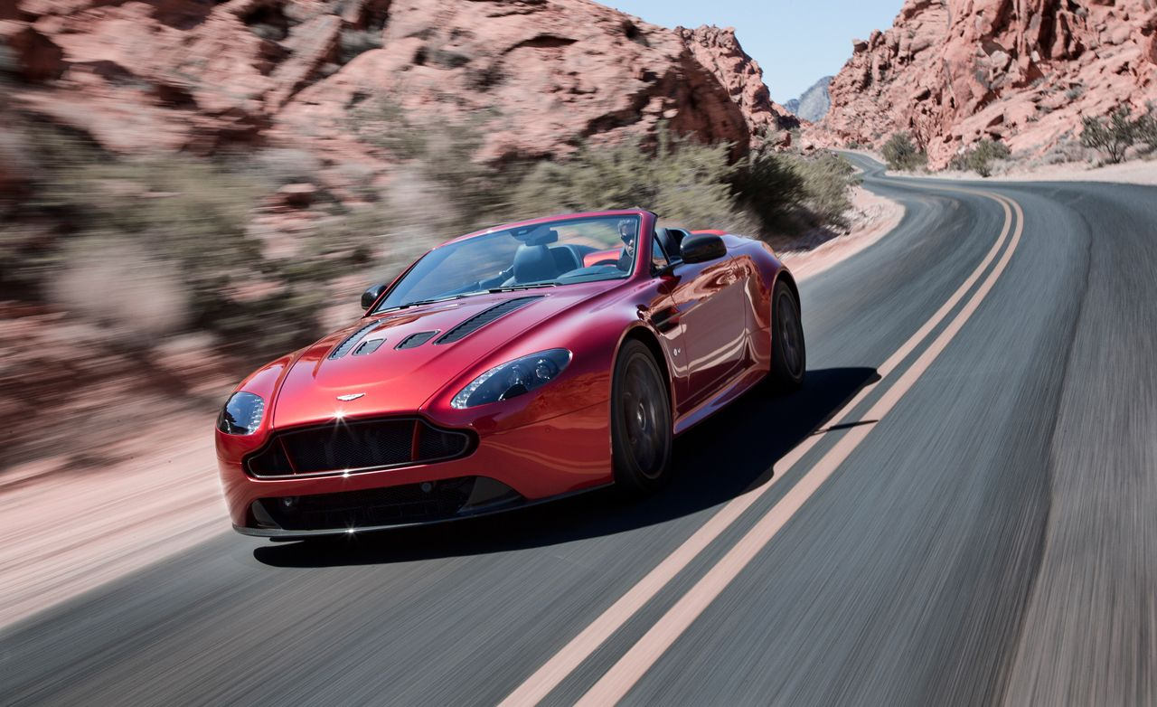2015 Aston Martin V12 Vantage S Roadster Photos And Info 8212 News 8212 Car And Driver