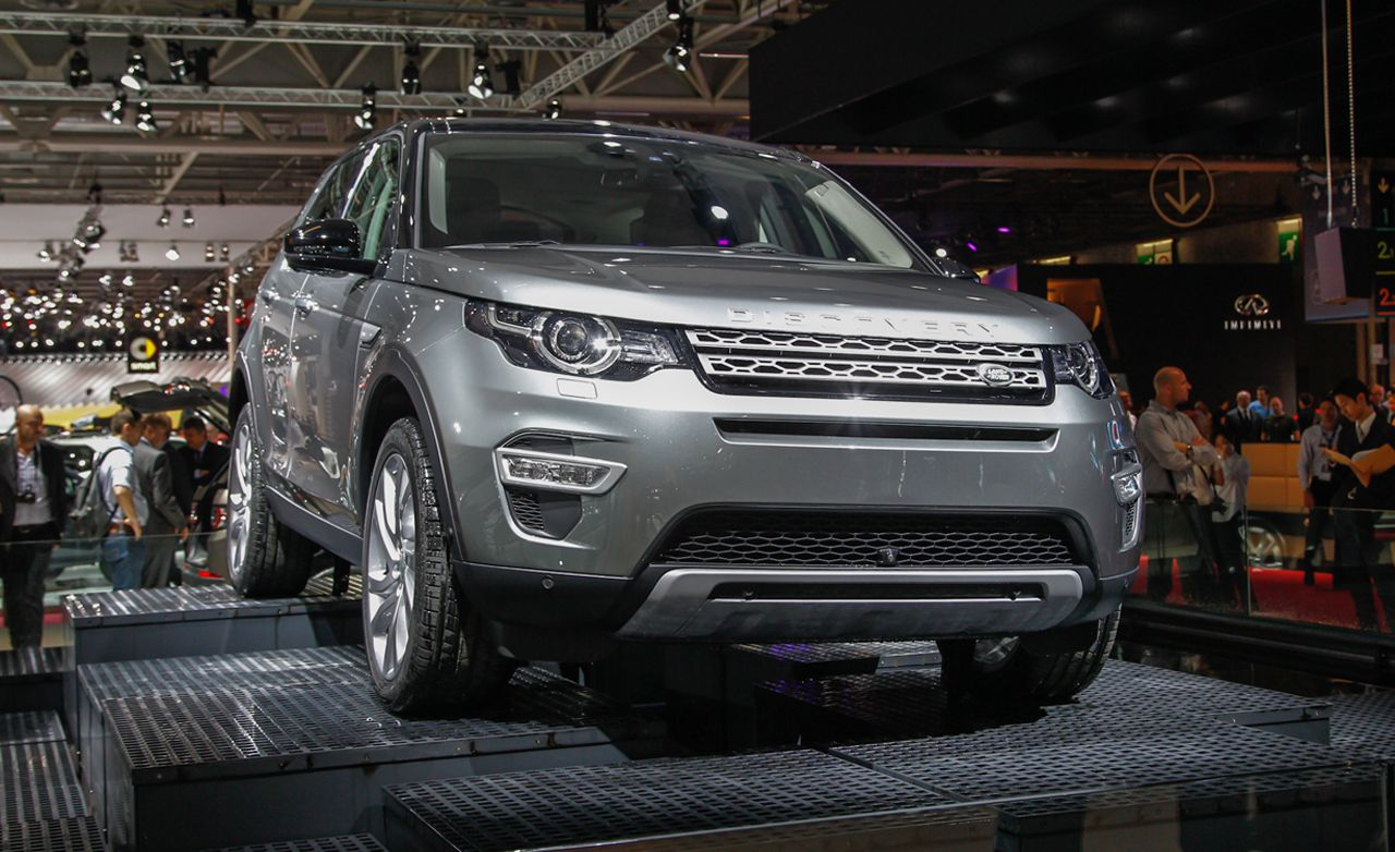2015 Land Rover Discovery Sport Official Photos and Info