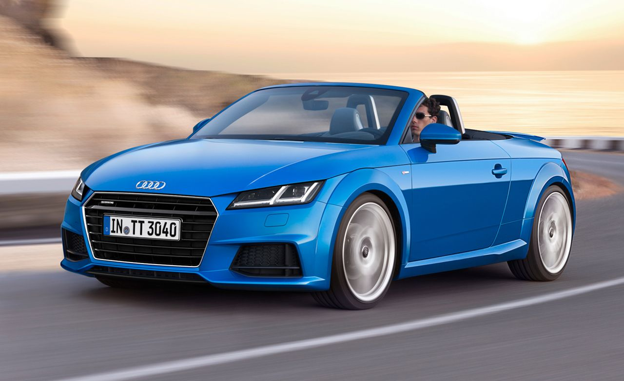 2016 Audi Tt Roadster Official Photos And Info 8211 News 8211 Car And Driver