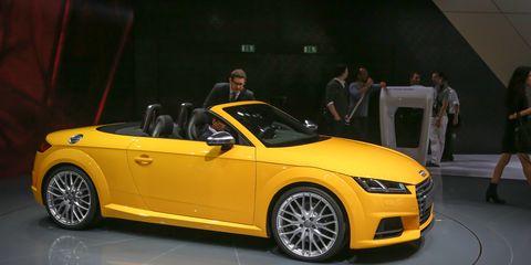 2016 Audi Tts Roadster Debuts Gunning For The Porsche Boxster