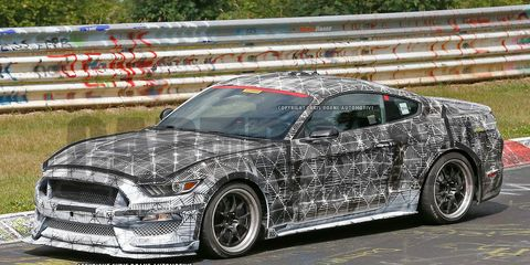 2016 Ford Mustang Shelby Gt350 Spy Photos