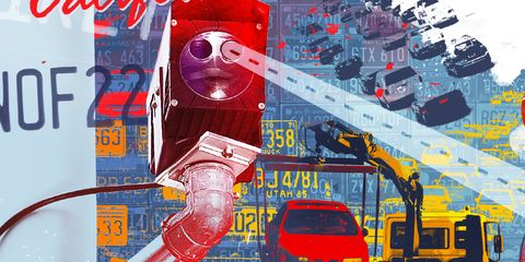 Motor vehicle, Red, Illustration, Wire, Machine, Pipe, Engineering, Electrical supply, Automotive mirror, Public utility,