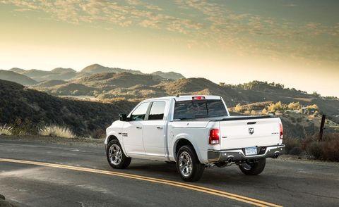 Motor vehicle, Tire, Wheel, Pickup truck, Road, Vehicle, Natural environment, Automotive exterior, Automotive tire, Land vehicle,